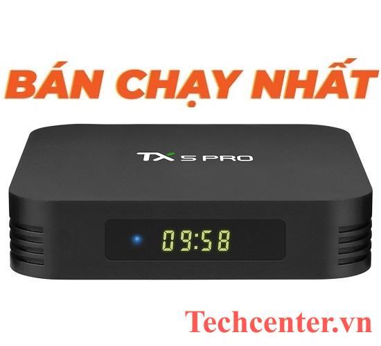 Tanix TX5 Pro Ram 4GB/32G (Tặng Chuột & Tai Nghe Bluetooth)