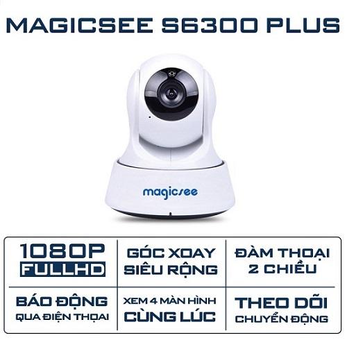Camera Giám Sát Magicsee S6300 PLus - Xoay 360 Độ Giá Siêu Rẻ