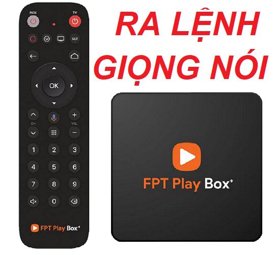 FPT PLAY BOX+ 2020 Tích Hợp Remote Voice (Điều Khiển Tìm Kiếm Giọng Nói)