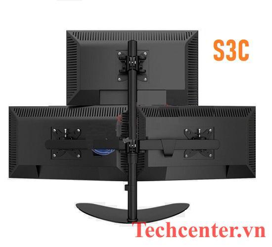 Giá Treo 3 Màn Hình Máy Tính Để Bàn S3C (14