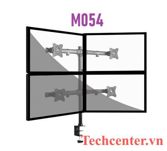 Giá Treo 4 Màn Hình Máy Tính Kẹp Bàn M054 (14