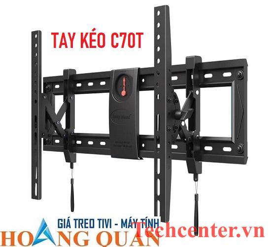 Giá Treo Tivi Nghiêng - Tay Kéo C70T (40
