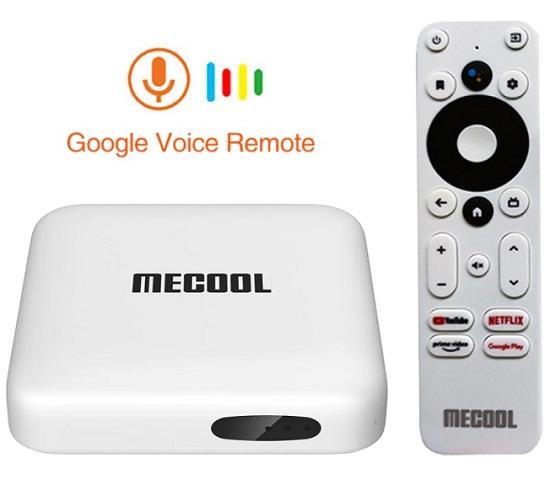 Mecool KM2 Ram 2GB, Android 10, Netflix, Amazon Chính Chủ Google Cấp Phép