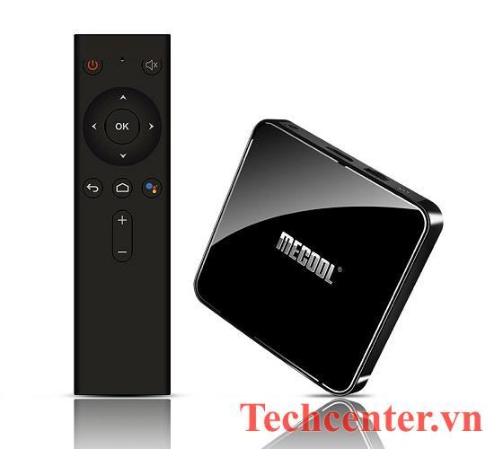Mecool KM3 Android TV 9.0 Chính Chủ Ram 4G/64GB Kèm Remote Voice