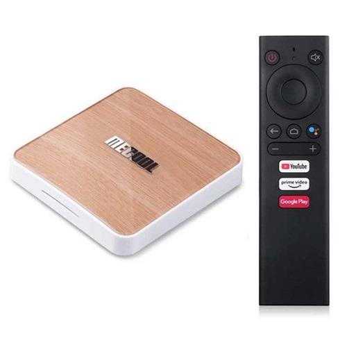 Mecool KM6 Ram 4G/64G Amlogic S905X4, AndroidTV 10 CE, Wifi 6 - Hàng Chính Hãng