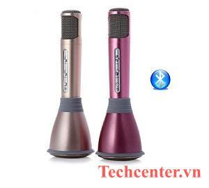 Micro Hát Karaoke Kiêm Loa Bluetooth K068