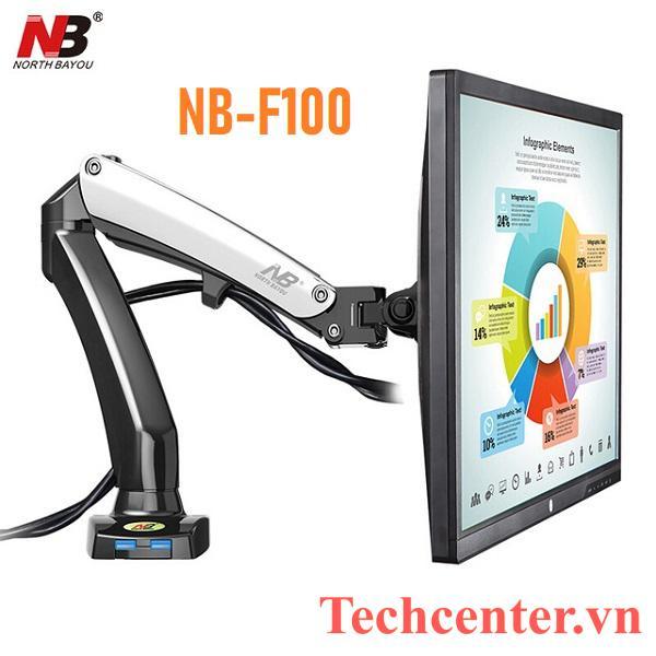 Giá Treo Màn Hình Máy Tính NB-F100 (17