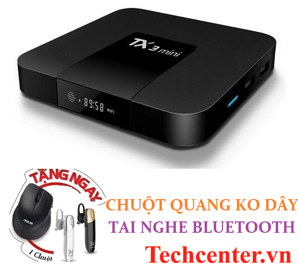 Tanix TX3 Ram 2GB/16GB Android TV 9.0 Model 2019 Bluetooth 4.0