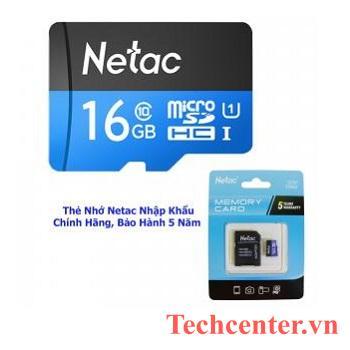 Thẻ Nhớ Netac U1 Dung Lượng 16GB