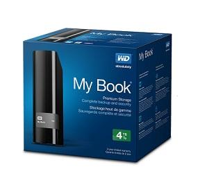 WD Mybook 4TB 3.5