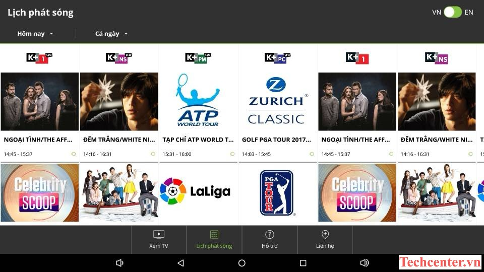 Android TV HIMEDIA Q30 Xem Myk+
