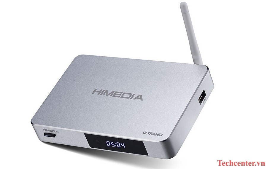 himedia q5 pro android tv box chinh hang, ho tro phat 4k 60fps, 7.1 hd-audio